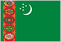 flag of the Republic of Turkmenistan