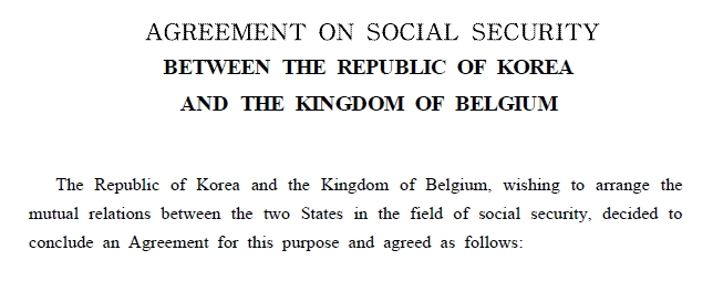 Agreement on social security between the republic of korea and the 1 platinumwayz