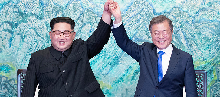Panmunjeom Declaration for Peace, Prosperity and Unification of the Korean Peninsula