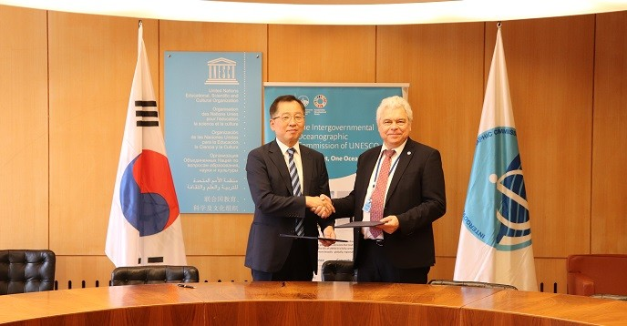 Korea commits increased support for international cooperation to boost ocean science for research and development