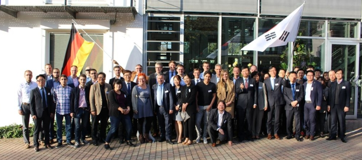 Deutsch-koreanischer Workshop zur Industrie 4.0 in Aachen