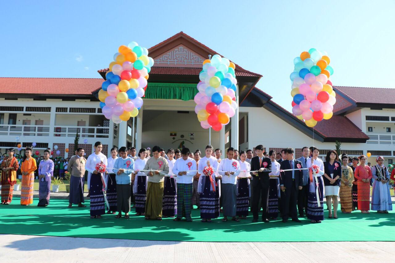 The opening and handover ceremony of Agricultural Extension and Rural Development Training Center (AERDTC)(11.14)