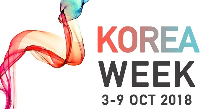 Notice for the Korea Week 2018