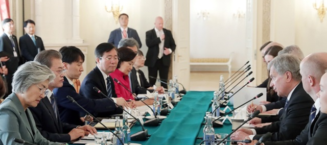 President of the Republic of Korea Moon Jae-in paid a state visit to Finland on 9-11 June 2019