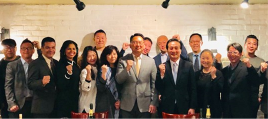 Consul General Hyo-Sung Park meets Palisades Park Mayor Christopher Chung
