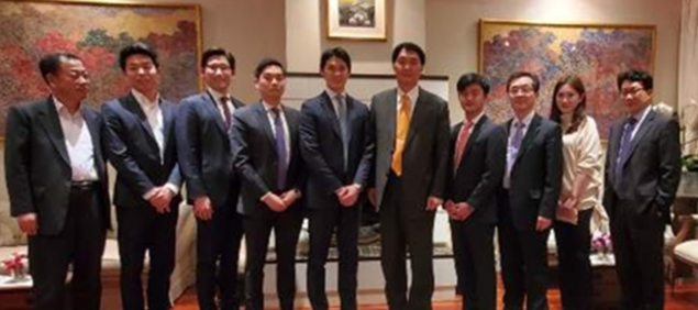 Dinner meeting with the Korea Finance Society