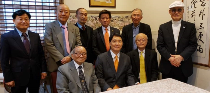 Meeting with Korean American Filial Piety