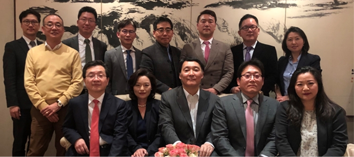 Dinner Meeting with New York / New Jersey Korean American Chamber of Commerce
