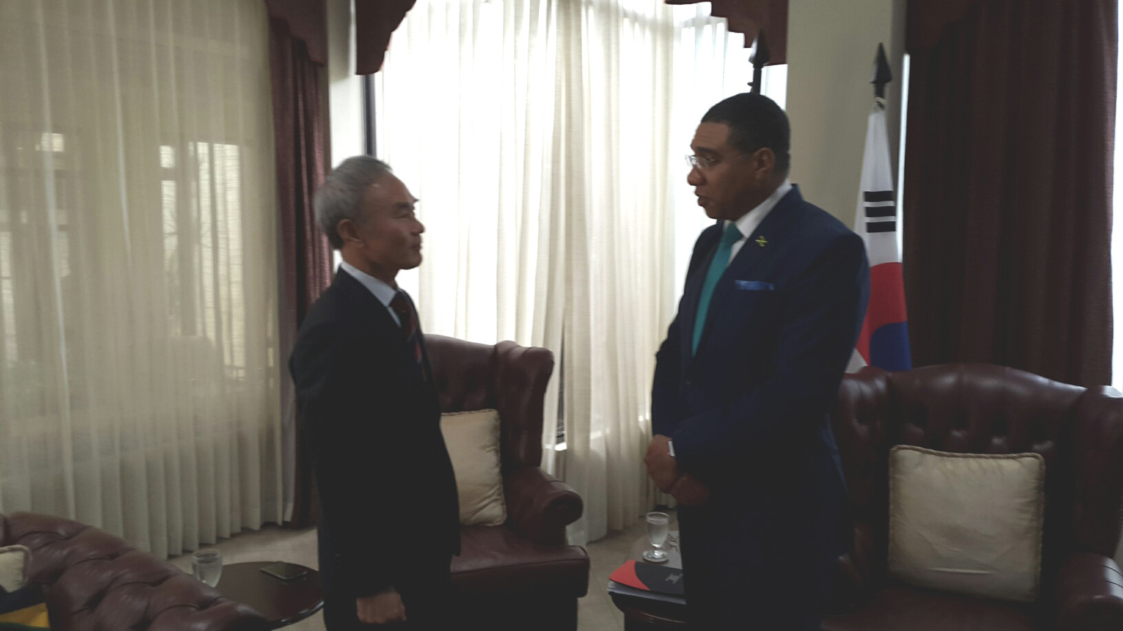 Courtesy Call on Prime Minister of Jamaica