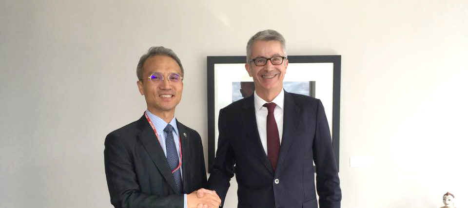 Ambassador Yeo Meets Bede Corry, Deputy Chief Executive of Foreign Affairs & Trade