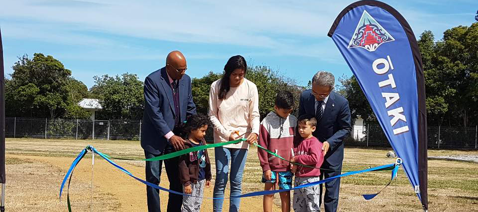 Embassy Presents Bicycles to Otaki School