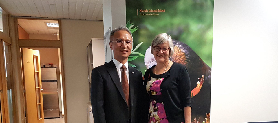 Ambassador Yeo Meets Hon Eugenie Sage, Minister of Conservation and Minister for Land Information