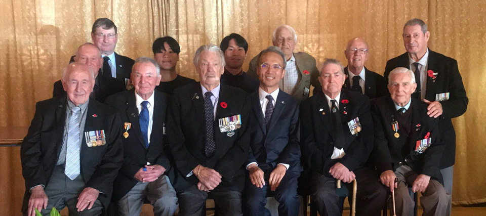 Ambassador Yeo Attends the Korean War Veterans' Association Meeting