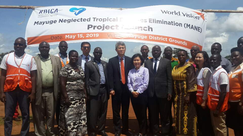 Launch of the elimination of neglected tropical diseases (MANE) project