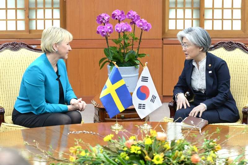 Sweden-ROK Foreign Ministerial Meeting