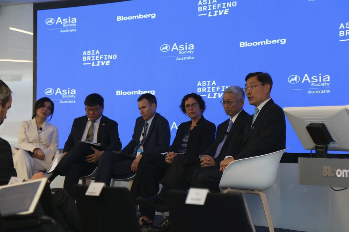 Participated in Asia Briefing Live 2018 as a speaker