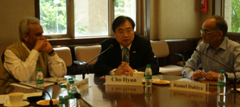 Ambassador Cho Hyun at an International Conference on 『India & South Korea in Regional Security Order』