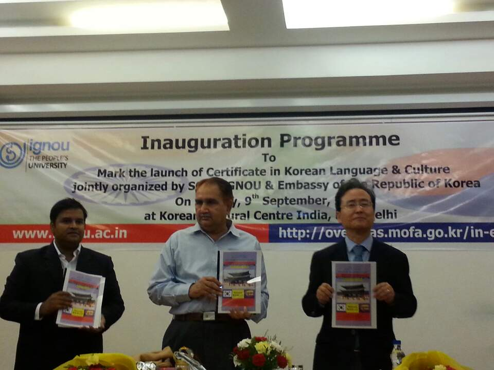 Learning Korean Language and Culture Across the India