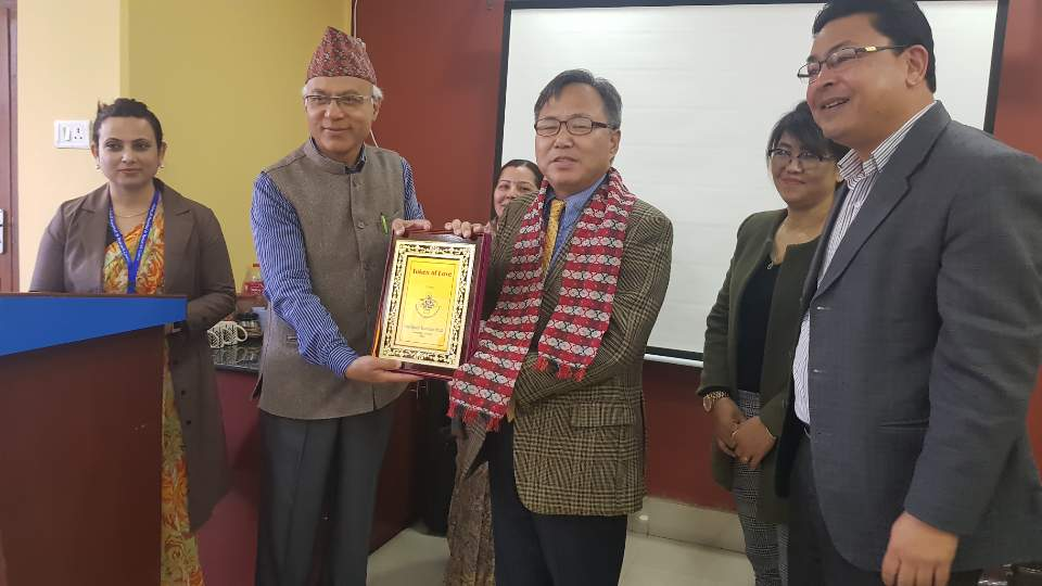 H.E. Ambassador Park Young-sig's Attendance in Donation Ceremony by Hyundai Motors and Lecture in Fishtail Hospital & Research Center and Fishtail Nursing Campus(Pokhara)