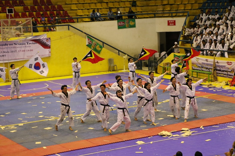 World-class Taekwondo Performance and Training Session by Kukkiwon