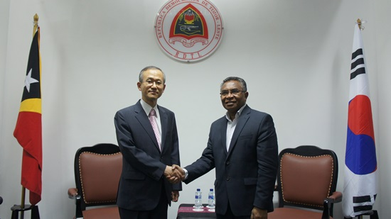 First Vice Foreign Minister Visits Timor-Leste