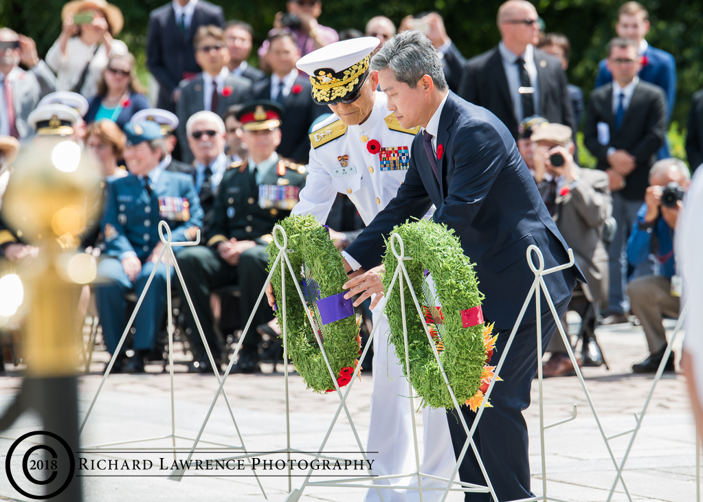 65th anniversary of the Korean War Armistice wreath laying ceremony