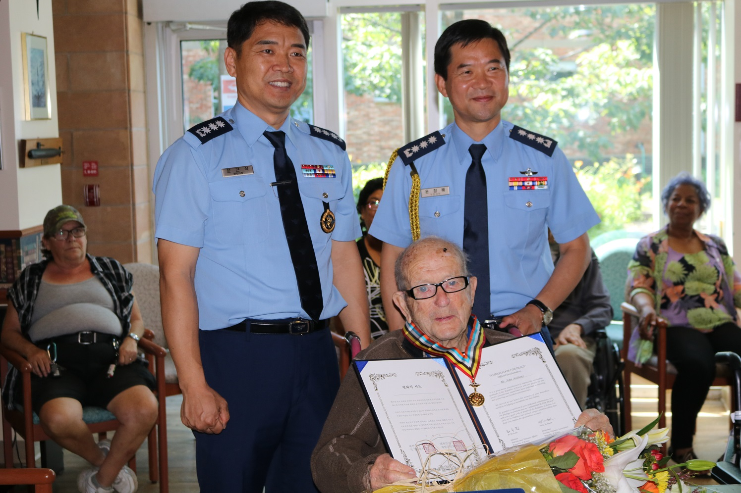 ROK Defence Attachés' visit to the PRVHC & Ambassador for Peace Medal Presentation (July 25)