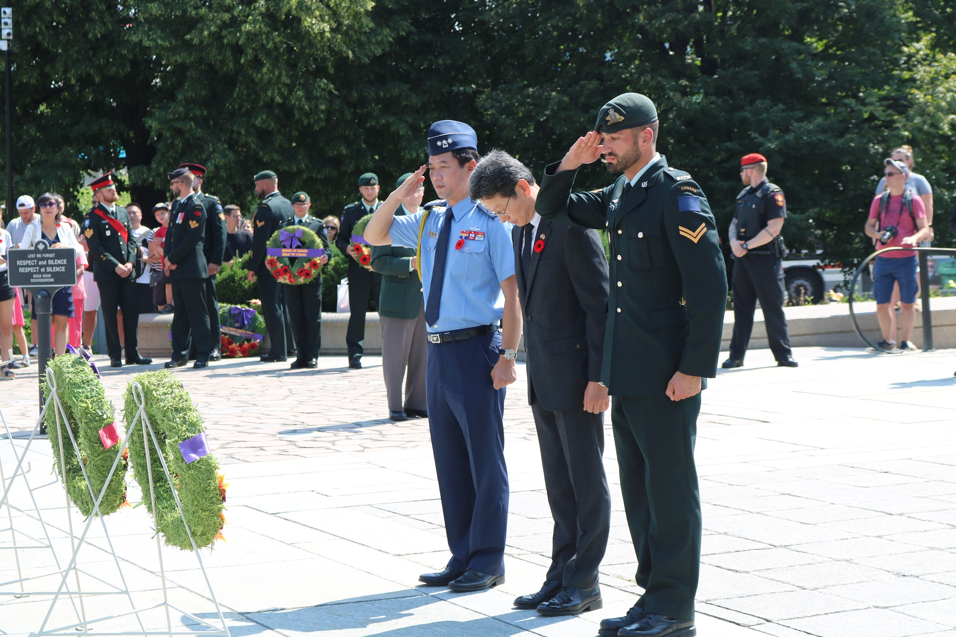 The Korean War Veterans Day Ceremony (7.27)