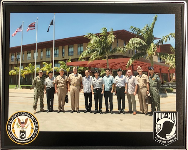 Visit to the US Defense POW/MIA Accounting Agency