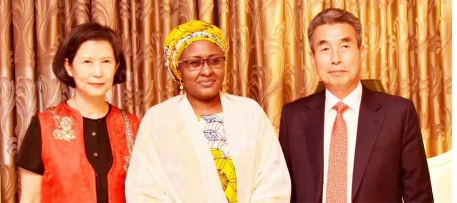 Courtesy Call to Mrs. Aisha Buhari