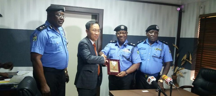 Consul General Kim visited Lagos State Police Command (2018.10.15.(Mon.))