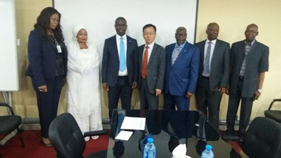 Consul General Kim visited Nigerian Maritime Administration and Safety Agency (NIMASA) (2018.10.10.(Wed.))