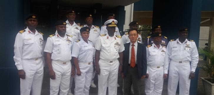Consul General Kim visited Nigerian Western Naval Command (2018.11.06.(Wed.))