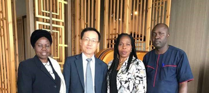 Consul General Kim's meeting with the University of Lagos Librarian, Dr. Yetunde Zaid