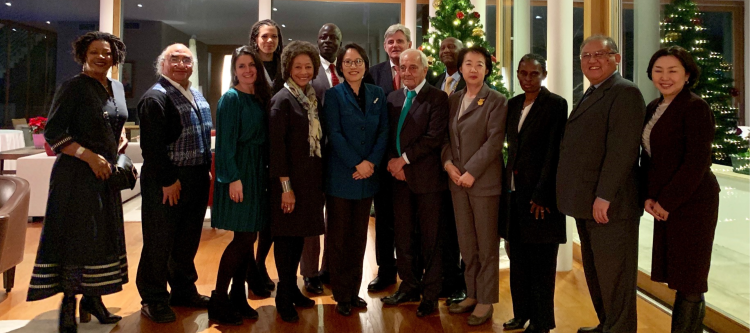 Ambassador Paik hosts a dinner for the Committee on the Elimination of Racial Discrimination