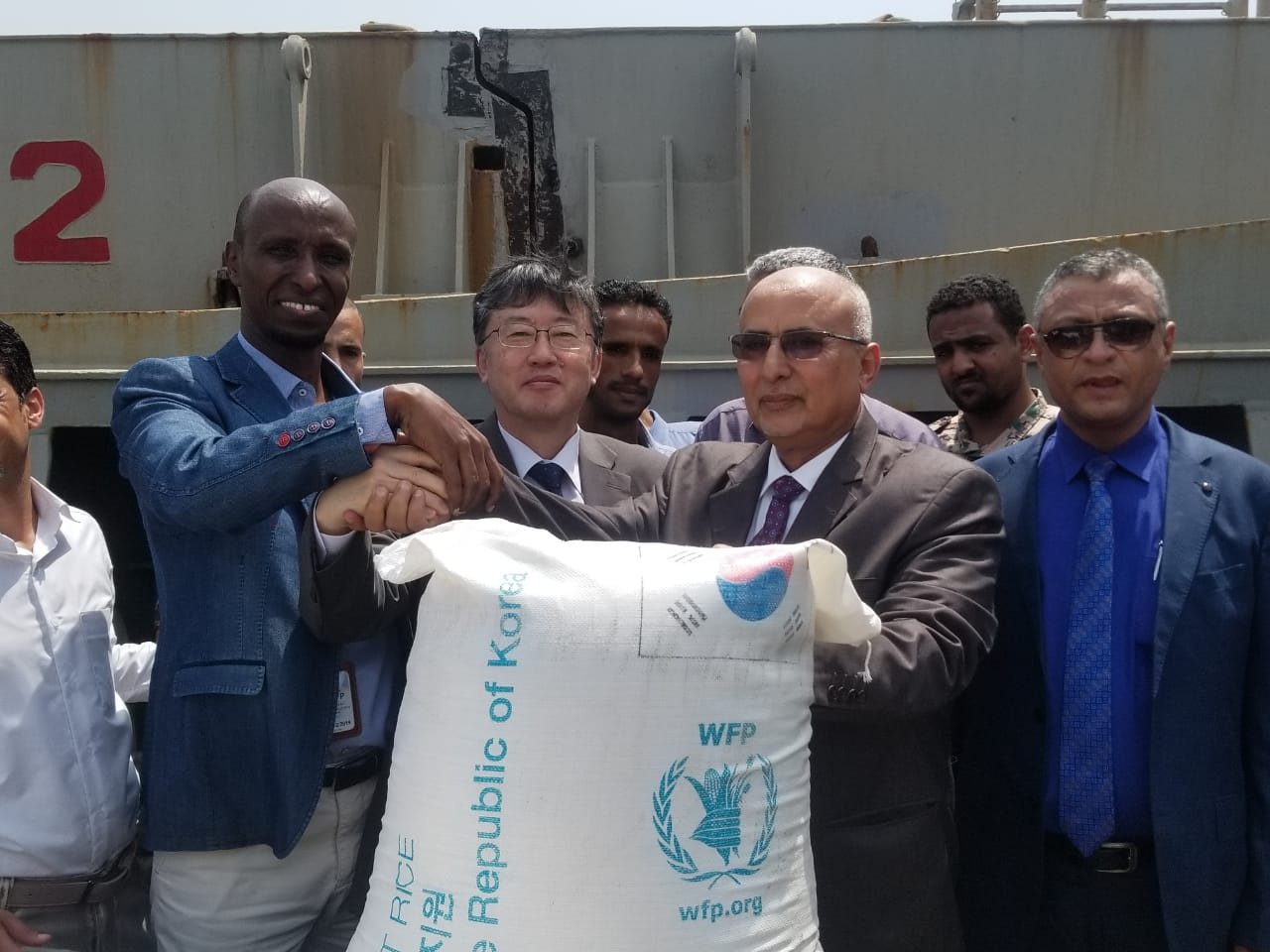 Ambassador attends 2019 Korean Rice Handover Ceremony