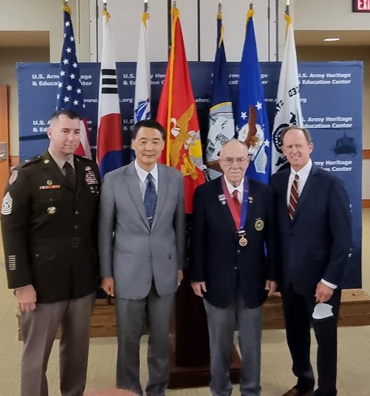장원삼 총영사, 평화의 사도 메달 수여식 참석