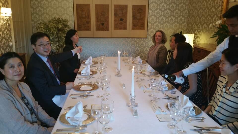 Treffen mit den Schulleitern und Schuleiterinnen 2