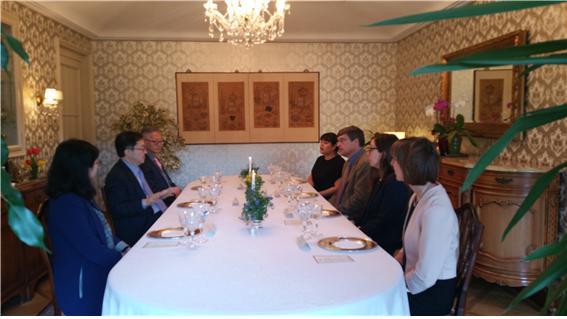 Treffen mit Prof. Dr. Hans Thomsen